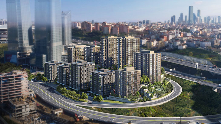 İstanbul Government Projects, Avangart İstanbul, Ayazağa, İstanbul, Turkey