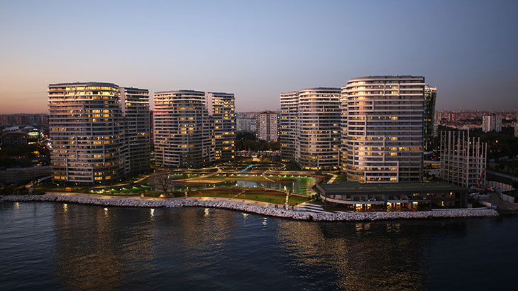 İstanbul Government Projects, Sea Pearl, Ataköy, İstanbul, Turkey