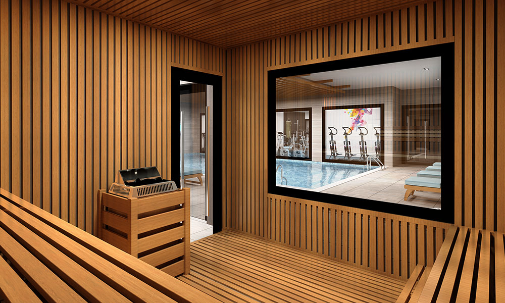 İstanbul Government Projects, Sauna