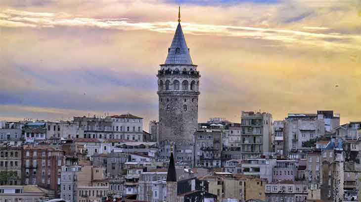 Historical Places in Istanbul, Galata Tower and Dolmabahce Palace